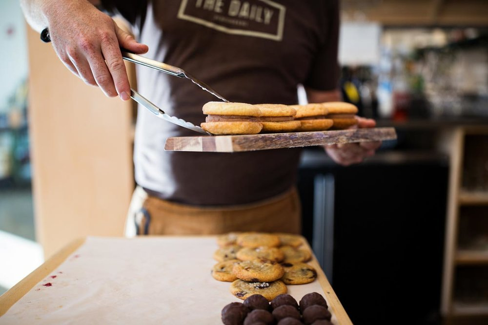 Ice Cream Sandwich & Cookies | Photograph courtesy of Butcher & Bee
