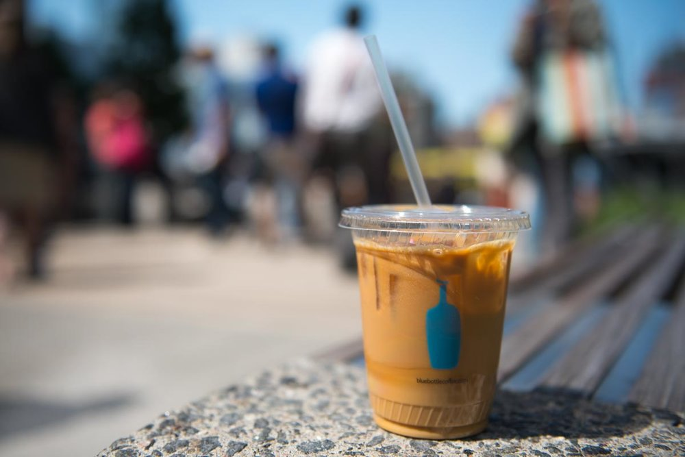 New Orleans Style Iced Coffee from Blue Bottle | Photo Credit: ©Find. Eat. Drink.