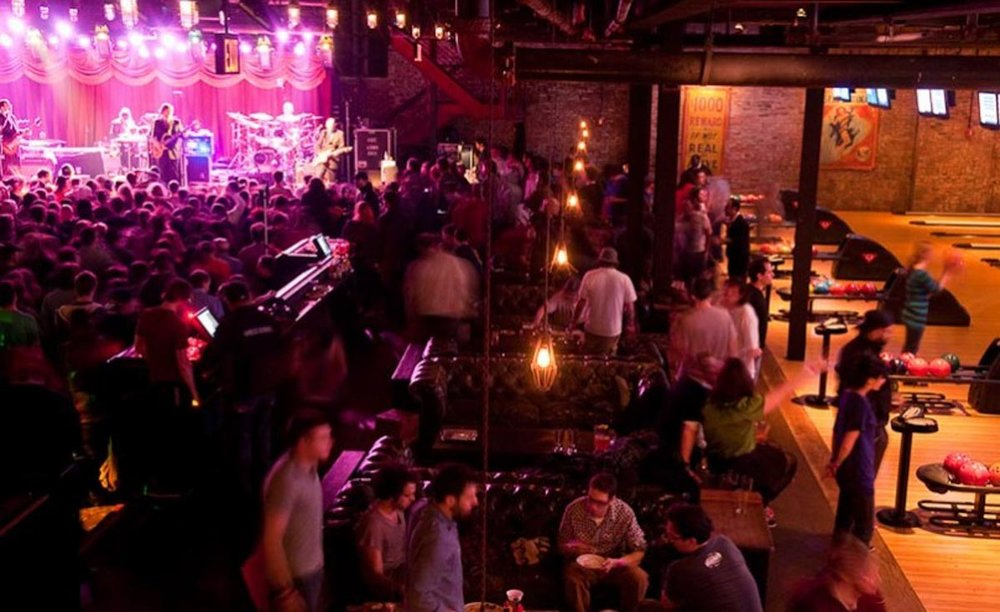 Photograph courtesy of Brooklyn Bowl
