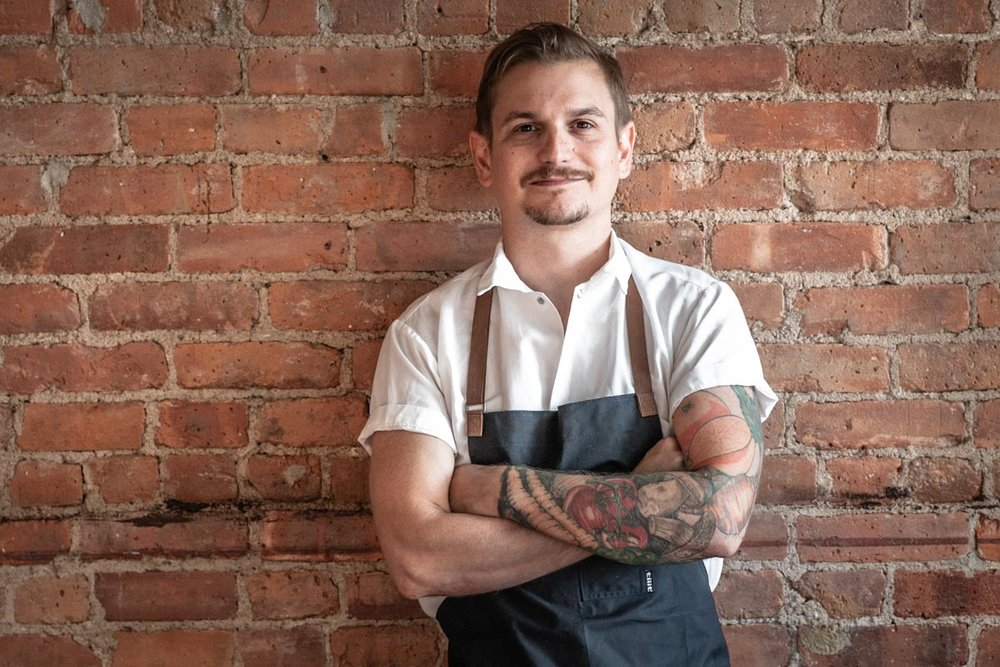 Chef Brad Willits | Photograph courtesy of Camperdown Elm