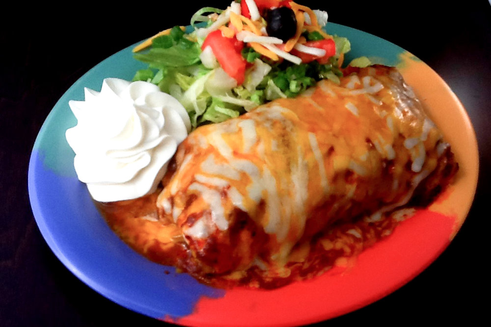 "The ""Wet"" Burrito"
