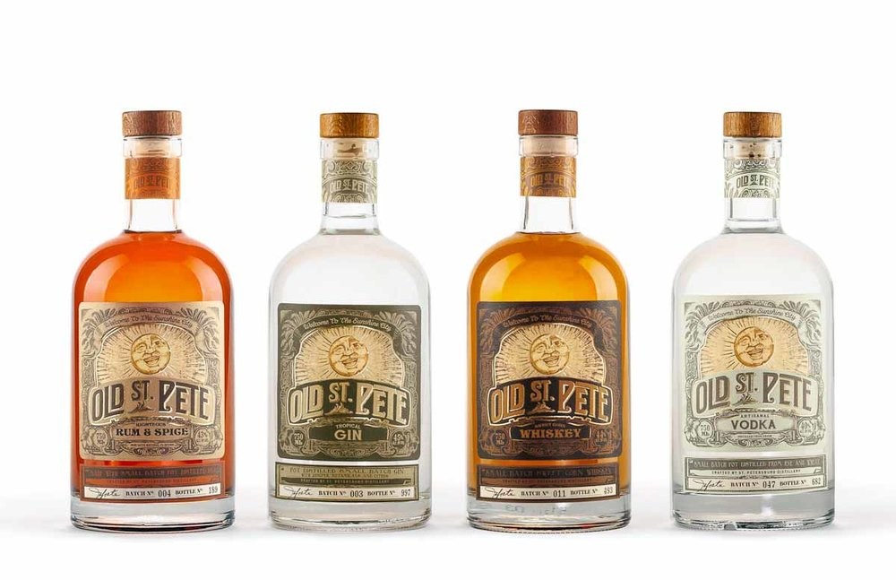 Photograph courtesy of Old St. Pete Distillery
