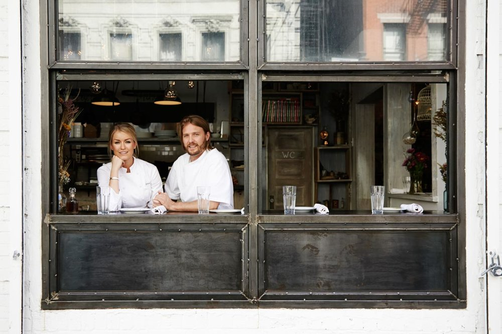 Chefs Janine Booth & Jeff McInnis
