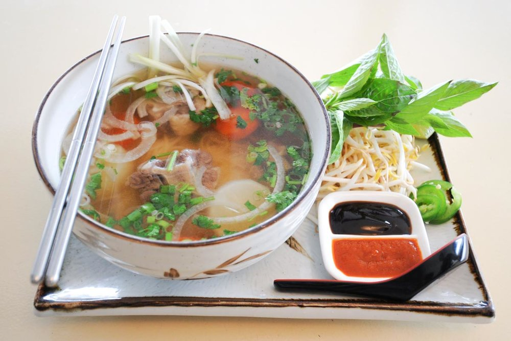 Photograph courtesy of Basilic Vietnamese Grill