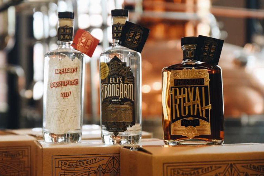 Photograph courtesy of Tom's Town Distilling Co