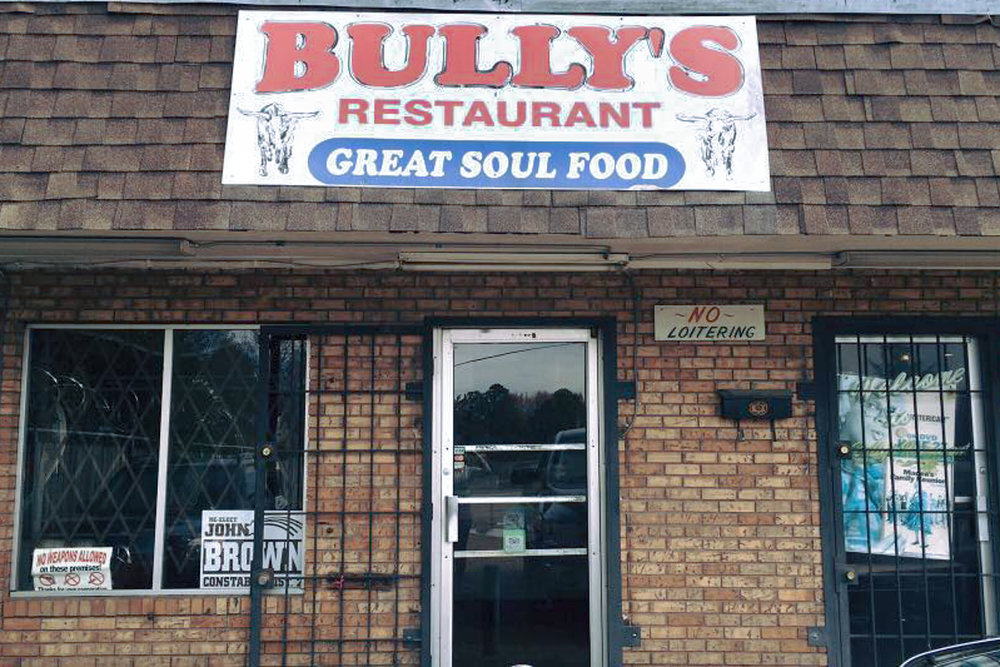 Photograph courtesy of Bully's Restaurant