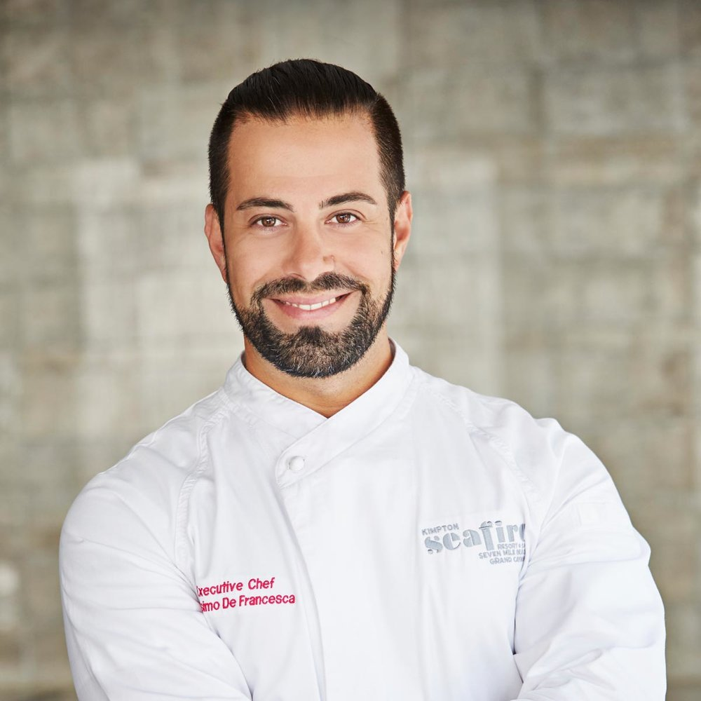 Chef Massimo De Francesca | Photograph courtesy of Kimpton Hotels