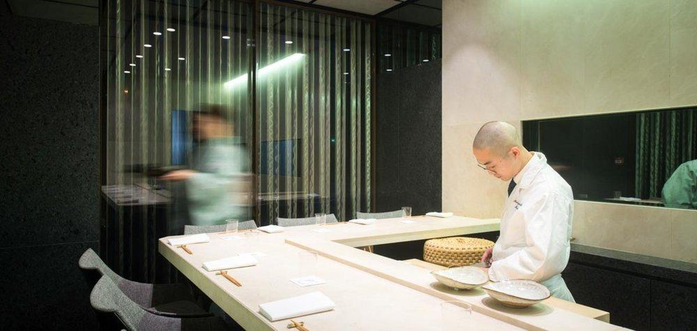 Photograph courtesy of Sushi-B