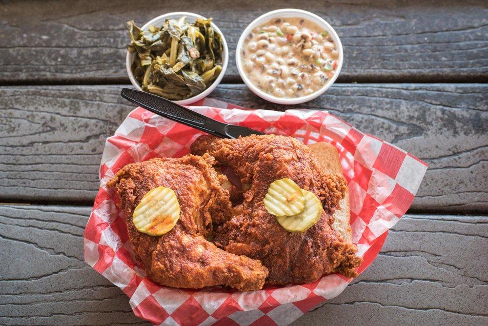 Hot Chicken at Hattie B's |Photo Credit: ©Find. Eat. Drink.