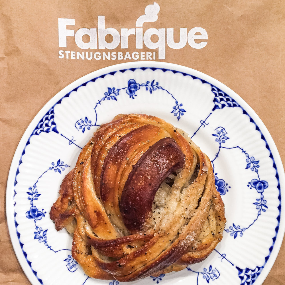 Cardamom Bun at Fabrique | Photo Credit: ©Find. Eat. Drink.