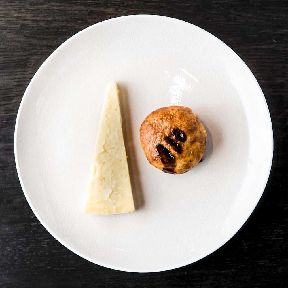Eccles Cake & Lancashire Cheese | Photograph courtesy of St. John Restaurant