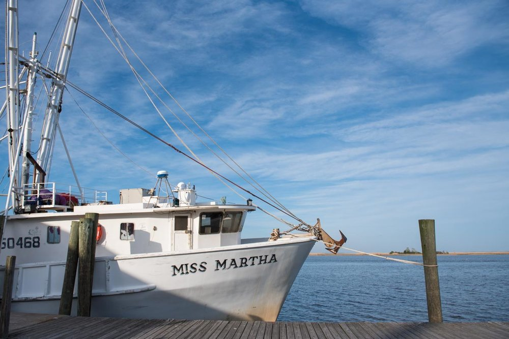 Fishing Boat in Apalachicola | Photo Credit: ©Find. Eat. Drink.
