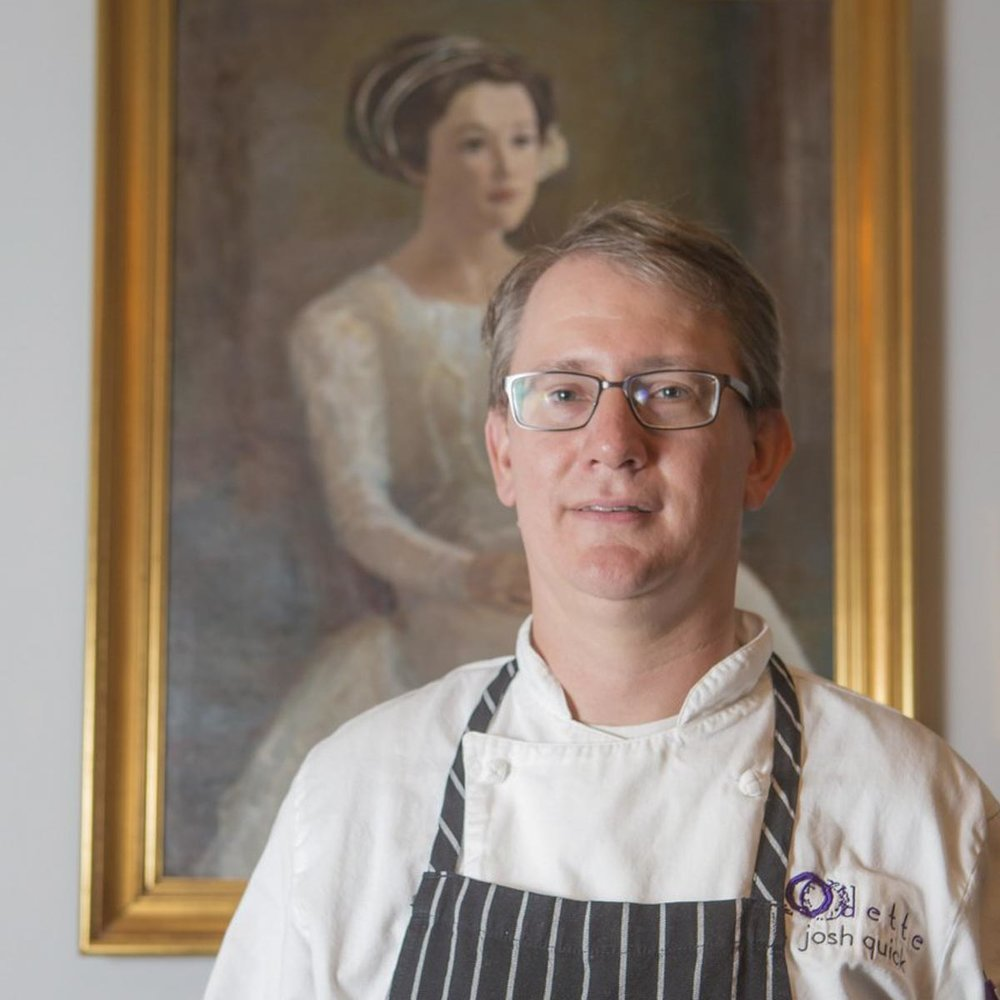 Chef Joshua Quick | Photo Credit: Chris Granger