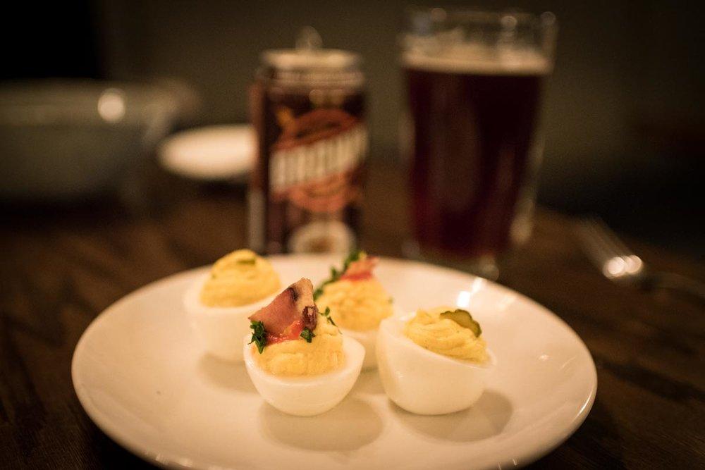 Deviled Eggs at Odette |Photo Credit: ©Find. Eat. Drink.