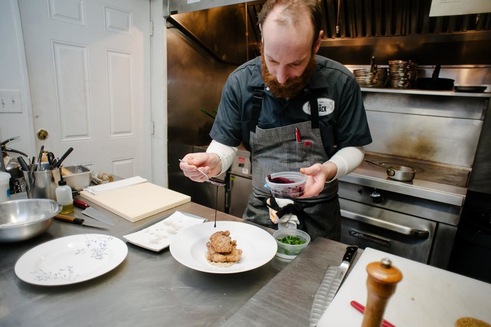 Chef Ian Boden | Photograph Courtesy of The Shack / Photo Credit: Sera Petras Photography