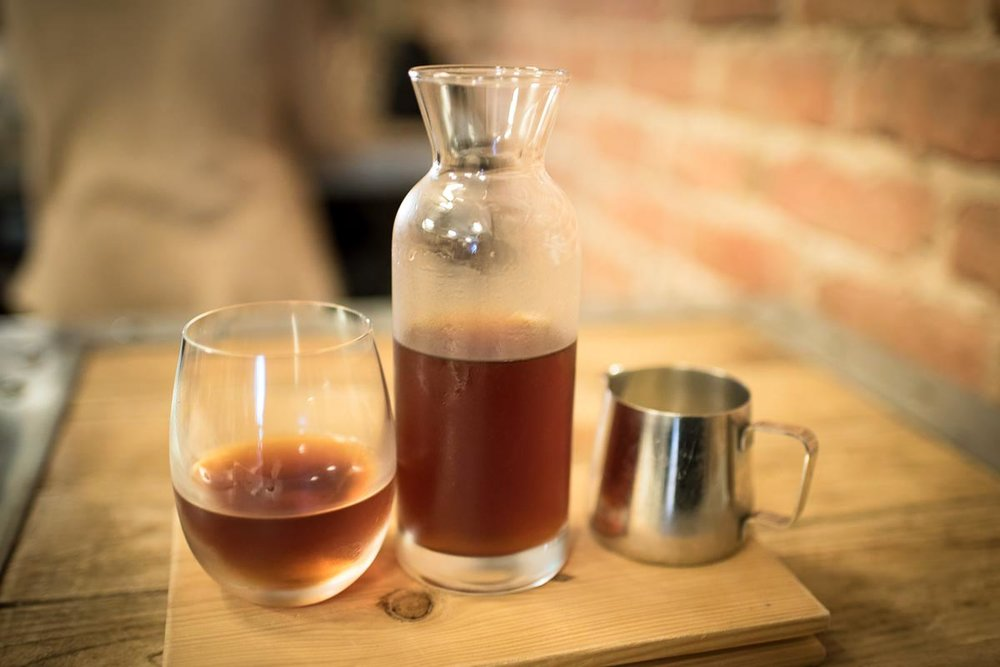 Cold Brew Coffee at Fabrica | Photo Credit: ©Find. Eat. Drink.