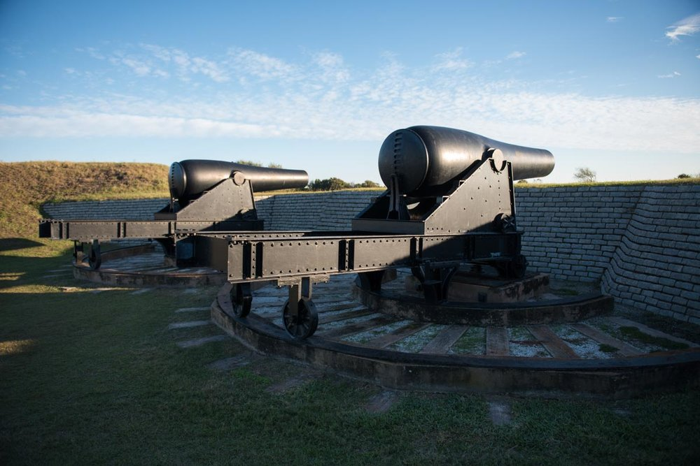 Fort Moultrie | Photo Credit: ©Find. Eat. Drink.