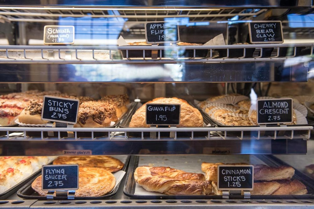 Pastry case at La Segunda Bakery | Photo Credit: ©Find. Eat. Drink.