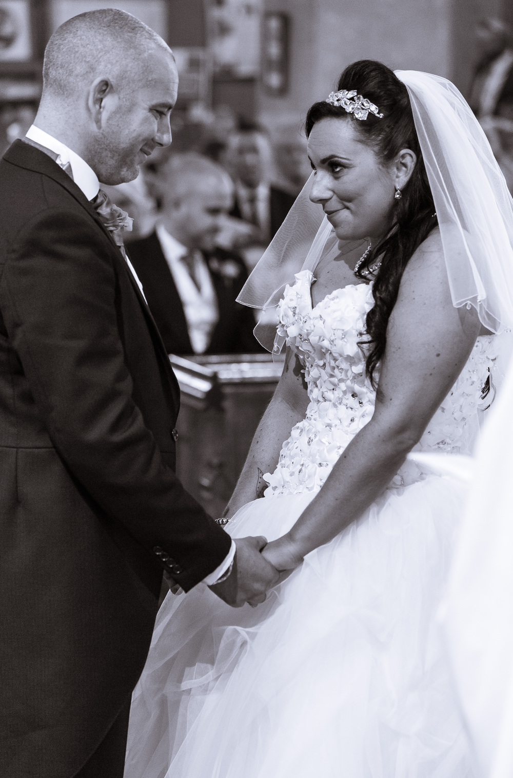 Capturing the emotion is what i do best! I love capturing the quick smiles and nervous from the bride and groom on their wedding day, it really adds to the photographs