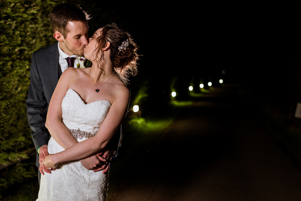 I Always try to capture a few images for the couple at night, it gives them a great selection of images