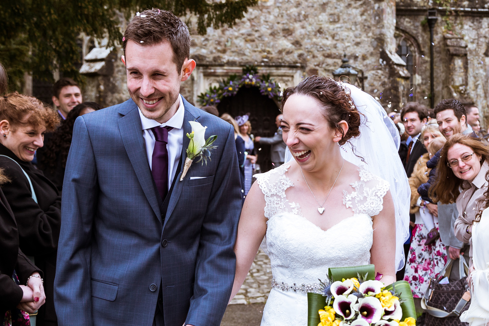 A Wedding I Photographed At Wood Church in Ashford