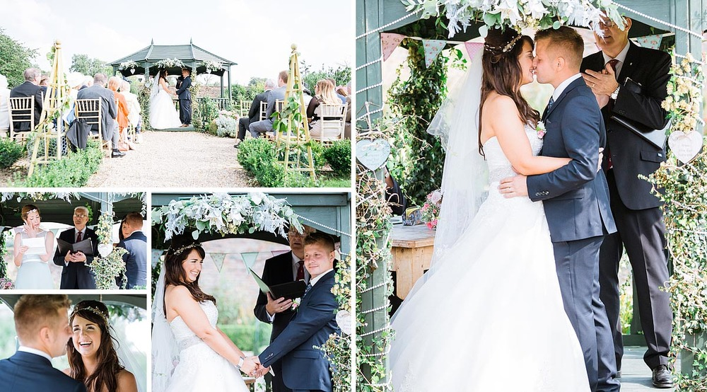 Kent Wedding in September at the secret garden