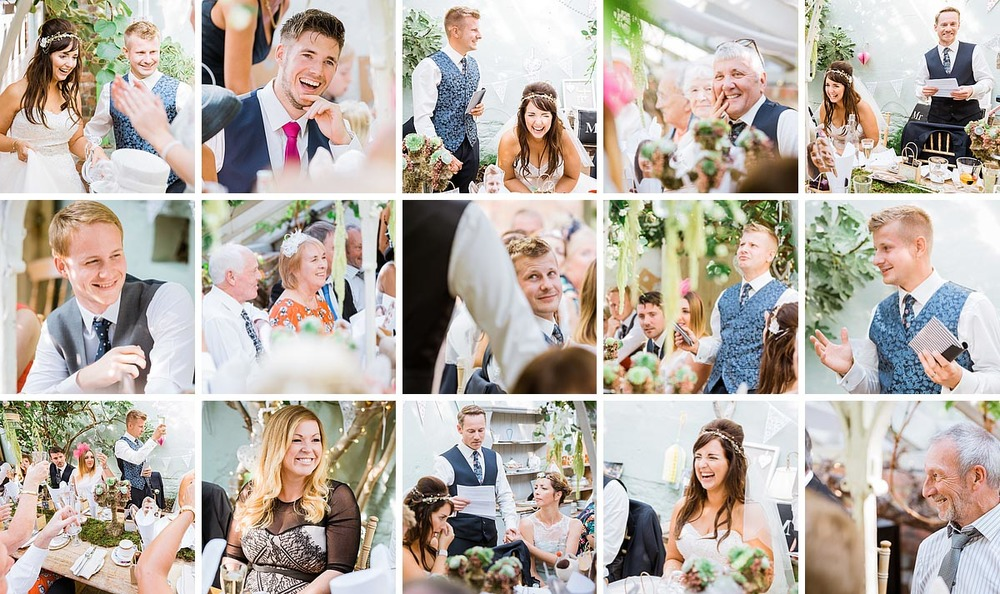 Kent Wedding Secret Garden Speeches