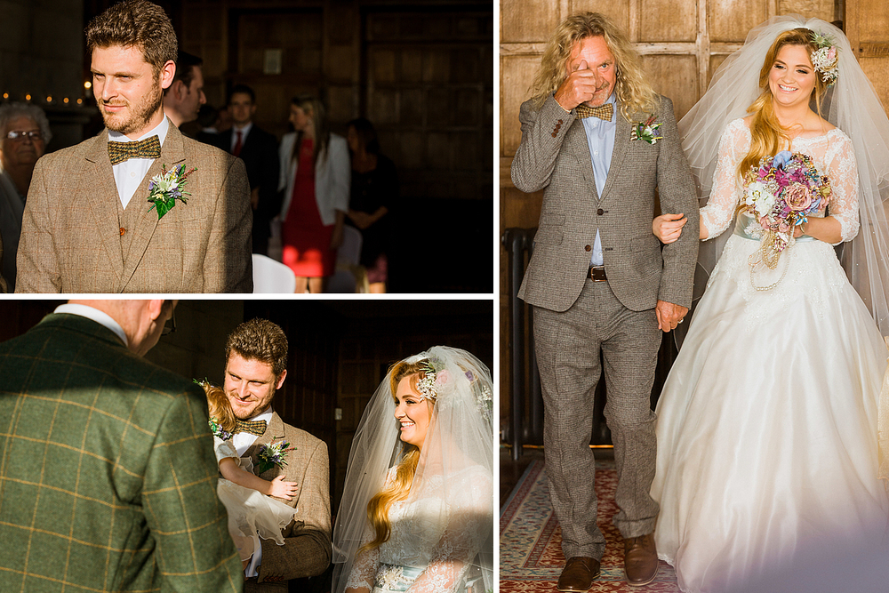 Kent Wedding, Lympne Castle Wedding Ceremony