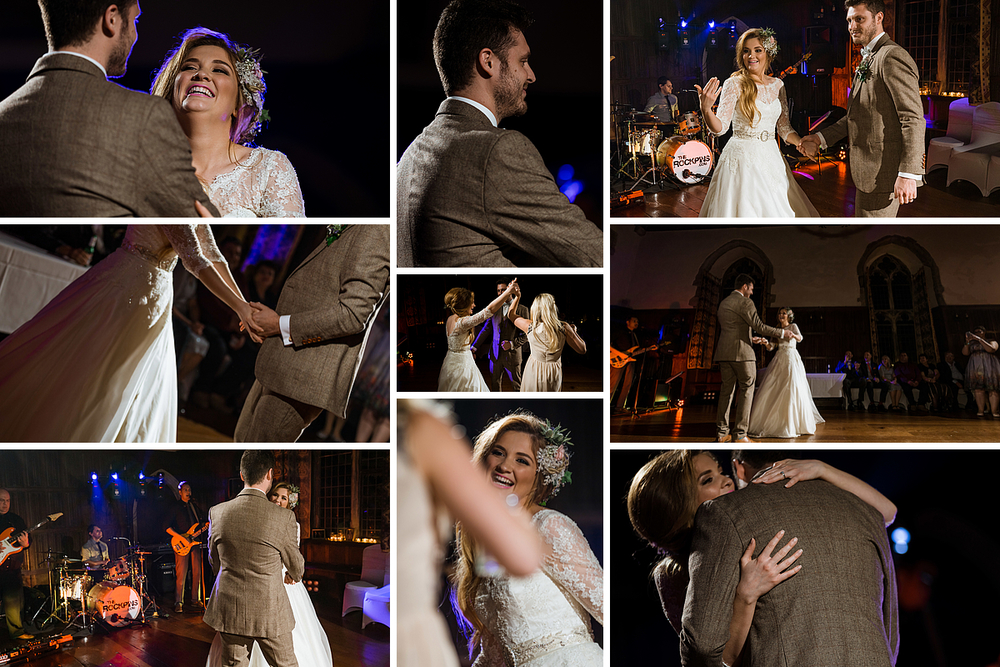 First Dance at Lympne Castle