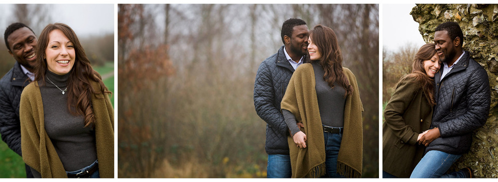 White Horse Country Park, Kent - Pre-Wedding Shoot - Edward Solly Photography