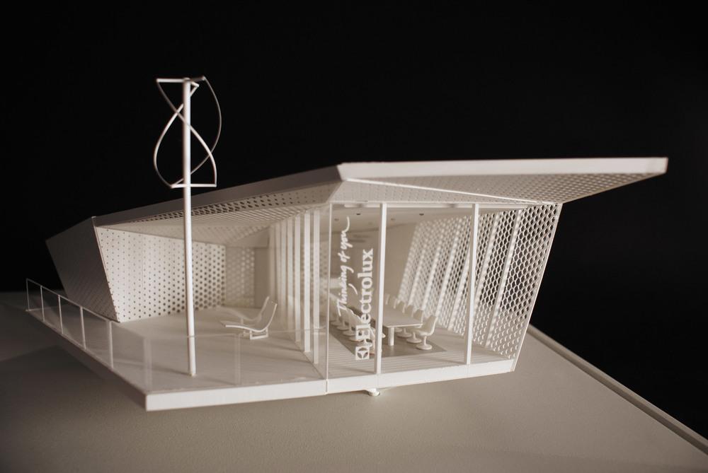 image of the cube restaurant Park Associati