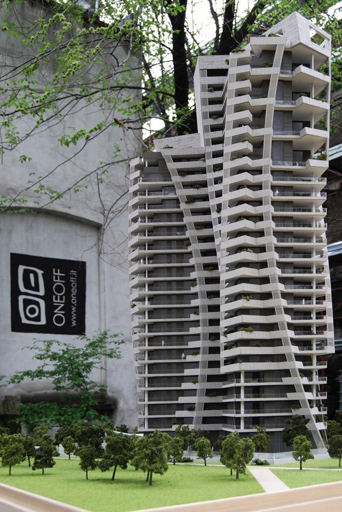 Libeskind ResidenzeParkTower Milano