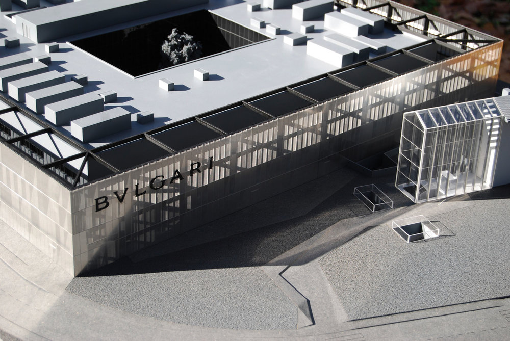 Image of Bulgari Manufactory Openproject