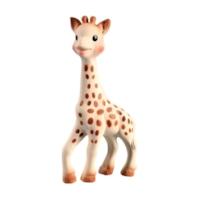 Babylegetøj som for eksempel den søde og miljøvenlige tygge-giraf Sophie.