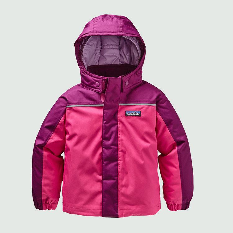 Skijakke i pink