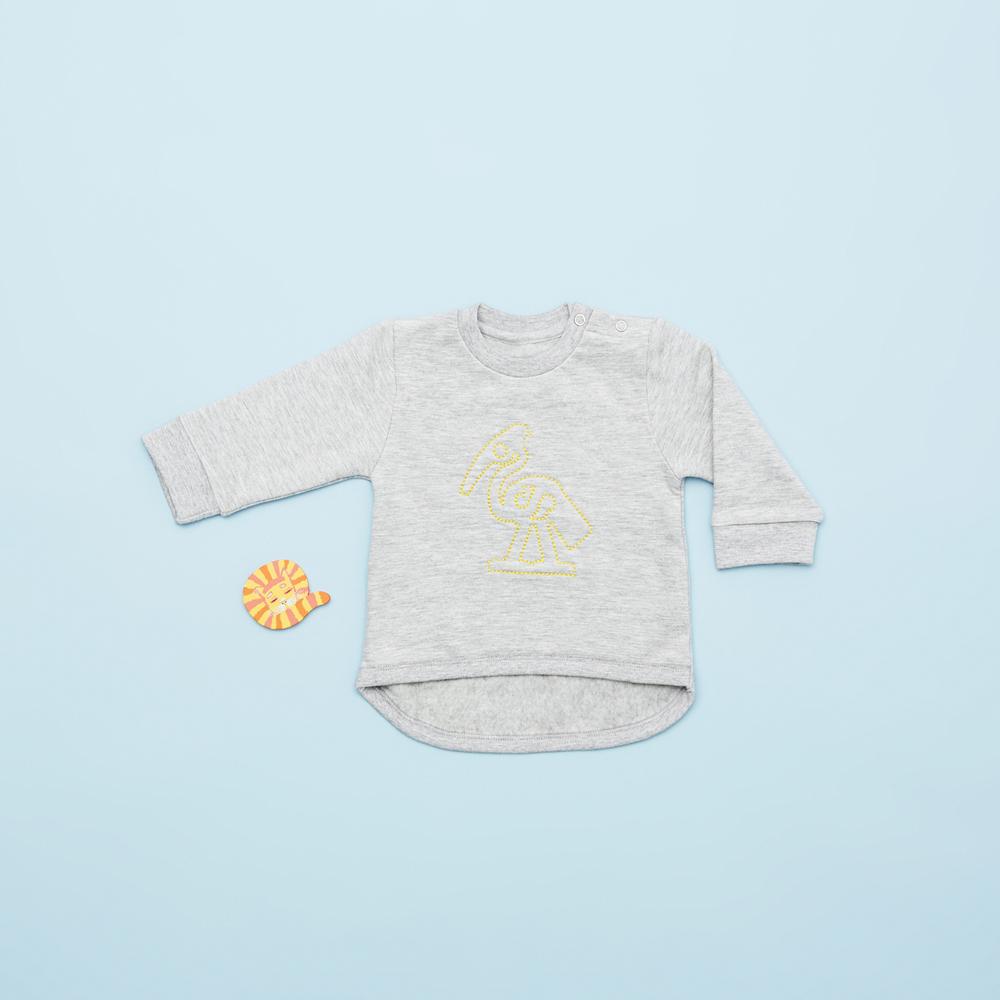 Man må gerne flashe at man er en VIGGA™ baby :-) Denne seje bluse er med til drengene i størrelse 68.