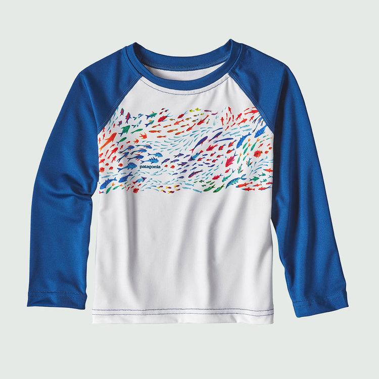 Strand t-shirt med lange ærmer - UV50