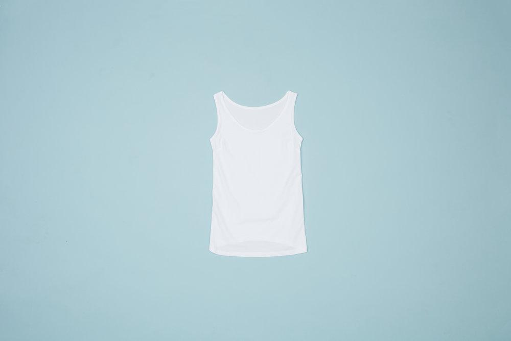 Tank top, hvid