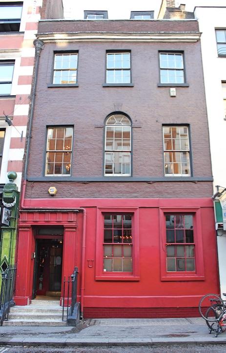 The Union Club at 50 Greek Street, Soho, London