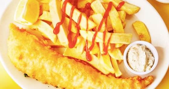 Golden Union Fish Bar – 38 Poland Street, W1F 7LY
