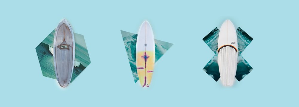 our ongoing pet project: seasicksurf.com where we sell handshaped surfboards by the hottest shapers from around the world. click to go there.