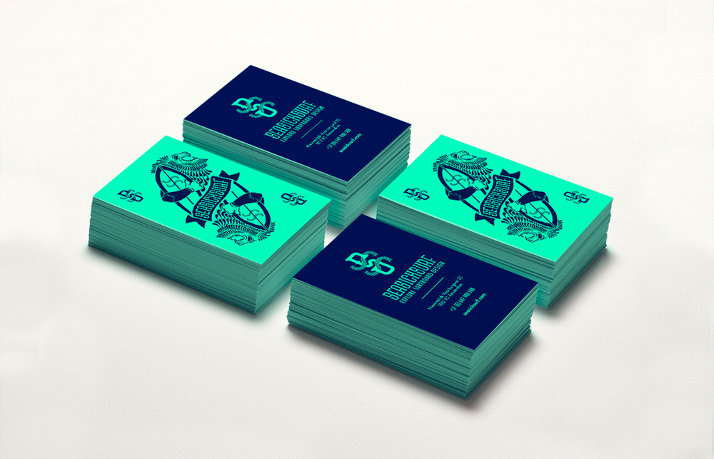 Illustrated bizz cards for seasicksurf.com made by our French Angry Intern Paul Bresset.