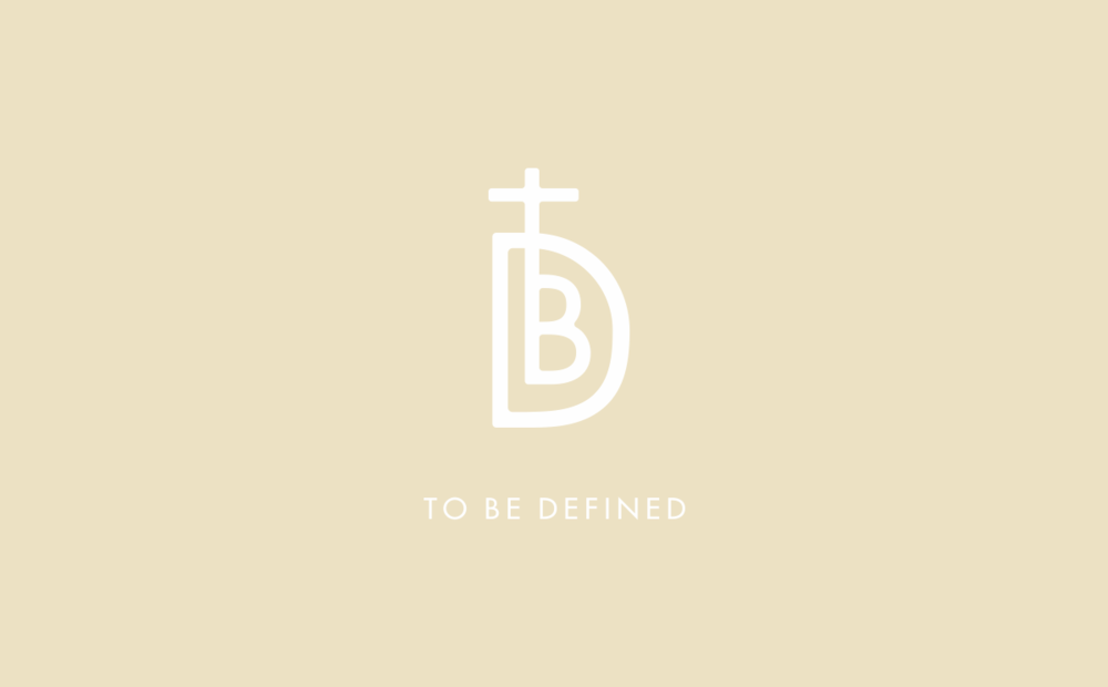 Identity design for amsterdam fashion brand TBD