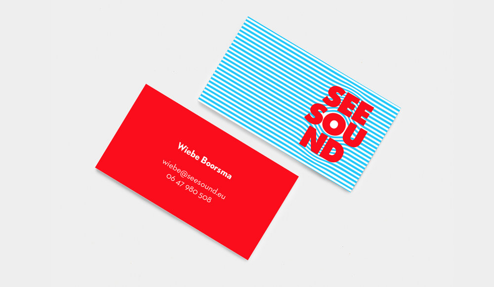 visual identity for a sound production studio
