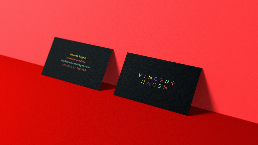 ID for mrvincenthagen.com a freelance creative producer