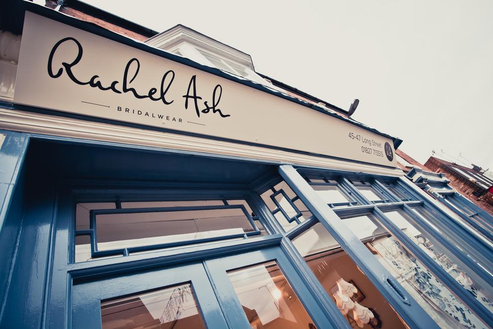 Rachel Ash Bridalwear Shop Front