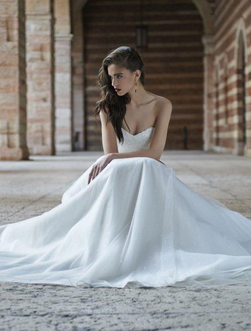 Rachel Ash Bridalwear | EMELIA DRESS & FLAVIA SHRUG BY STEPHANIE ALLIN
