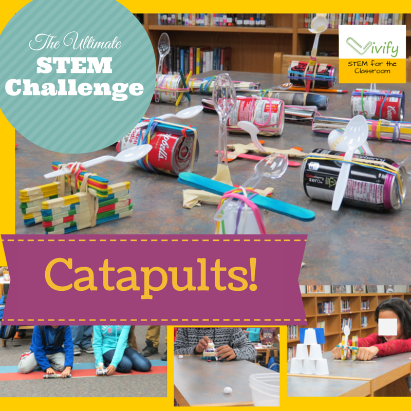 Steam Middle School Home: Catapult Challenge