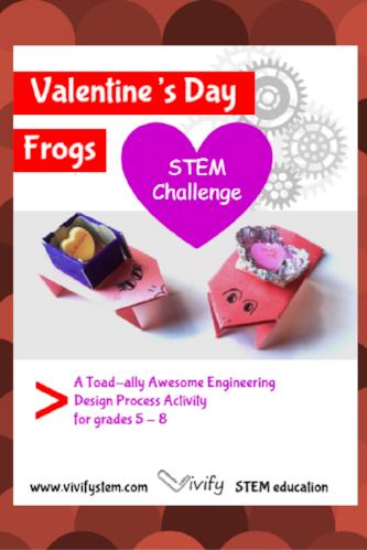 Valentine S Day Stem Frog Challenge Vivify
