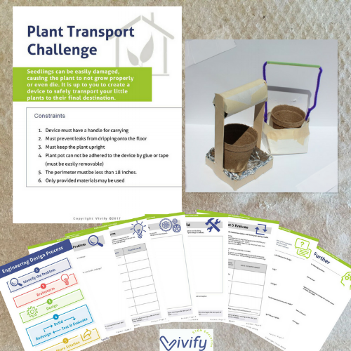 Plant Transport Device engineering design challenge